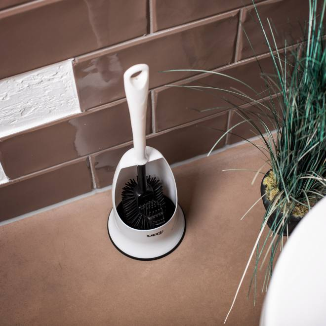 UPP Silicon Toilet Brush Black