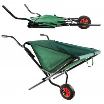 A wheelbarrow that fits in every...